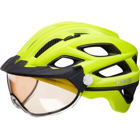 KED Covis Lite casco per bici giallo